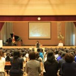 長野市立篠ノ井東小学校開校40周年記念式典 講演